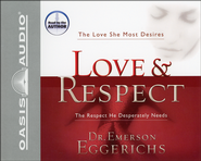 Love & Respect - Audiobook on CD   -              By: Dr. Emerson Eggerichs