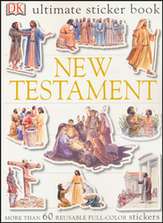 Ultimate Sticker Book: New Testament  -