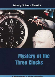Moody Science Classics: Mystery of the Three Clocks, DVD   -
