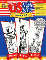 U.S. Facts & Fun, Grades 1-3   -
