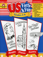 U.S. Facts & Fun, Grades 4-6   -