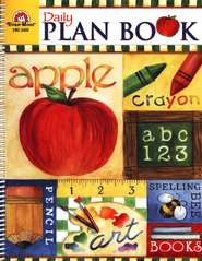Daily Plan Book, Grades 1-6   -