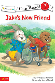 Jake's New Friend - eBook  -     By: Crystal Bowman