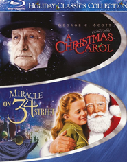 A Christmas Carol/Miracle on 34th Street, 2 Blu-ray Set   -