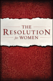 The Resolution for Women - Slightly Imperfect  -     By: Priscilla Shirer