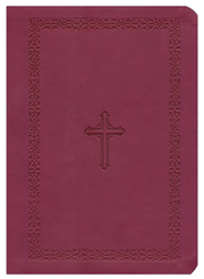 NASB MacArthur Study Bible, Leathersoft, cranberry  -              Edited By: John MacArthur