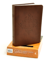 NKJV Gaither Homecoming Bible, Leathersoft, brown indexed  -              Edited By: Bill Gaither, Gloria Gaither                   By: Edited by Bill & Gloria Gaither