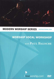 Worship Vocal Workshop, DVD   -