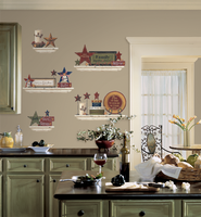Country Decor Vinyl Wall Stickers  -
