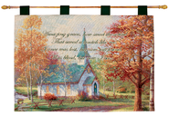 Amazing Grace Wallhanging  -     By: Thomas Kinkade