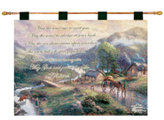 May the Road Rise Wallhanging  -     By: Thomas Kinkade