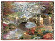 Whoever Believes in Me Throw  -     By: Thomas Kinkade