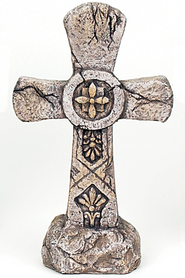 Decorative Garden Cross   -