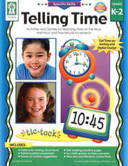 Specific Skills: Telling Time  -     By: Deb Pressnall