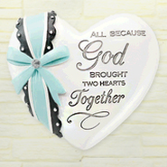 God Brought Two Hearts Together, Heart Expressions Stone  -