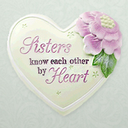 Sisters Know Each Other by Heart, Heart Expressions Stone  -