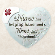 A Nurse Has Helping Hands, Heart Expressions Stone  -