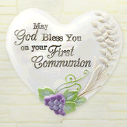 Bless You on Your First Communion, Heart Expressions Stone  -