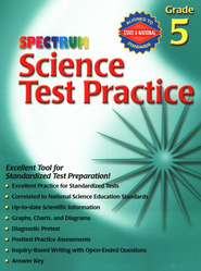 Spectrum Science Test Practice Grade 5   -