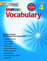 Spectrum Vocabulary Grade 4 2007   -