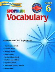 Spectrum Vocabulary Grade 6, 2007   -