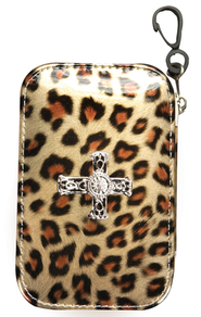 Leopard Design with Cross Emergency Kit  -