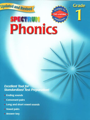 Spectrum Phonics, 2007 Edition, Grade 1   -