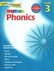 Spectrum Phonics, 2007 Edition, Grade 3   -