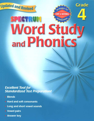 Spectrum Phonics, 2007 Edition, Grade 4   -