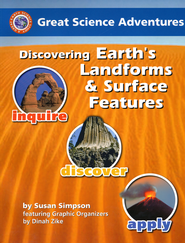 Discovering Earth's Landforms & Surface Features,    -              By: Dinah Zike, Susan S. Simpson