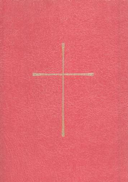 1979 Book of Common Prayer, Personal Edition, Imitation Leather, Red  -