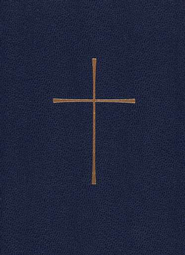 1979 Book of Common Prayer, Personal Edition  Imitation Leather, Blue - Imperfectly Imprinted Bibles  -