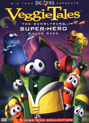 The Bumblyburg Superhero Value Pack DVD's: The Rumor Weed, Dave and the Giant Pickle & The Fib from Outer Space  -