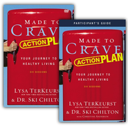 Made to Crave Action Plan Participant's Guide with DVD: Your Journey to Healthy Living - Slightly Imperfect  -