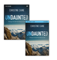 Undaunted Participant's Guide with DVD: Daring to Do What God Calls You to Do  -              By: Christine Caine