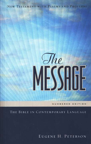 The Message New Testament w/ Psalms and Proverbs - eBook  -     By: Eugene H. Peterson
