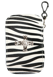 Zebra Design with Cross Emergency Kit  -