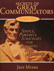 Secrets of Great Communicators Student Textbook   -              By: Jeff Myers