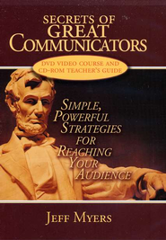 Secrets of Great Communicators CD/DVD                              -     By: Jeff Myers
