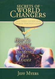 Secrets of World Changers: How to Achieve Lasting Influence as a Leader, CD/DVD Set  -     By: Jeff Myers