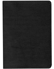 KJV Life Application Study Bible, Large Print , Bonded leather, black  -