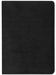 KJV Life Application Study Bible, Large Print, Bonded leather,  black, Thumb-Indexed  -