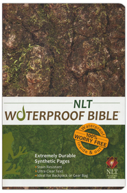 NLT Waterproof Bible, Camouflage  -