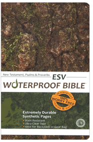 ESV Waterproof Bible, Camouflage - Imperfectly Imprinted Bibles  -