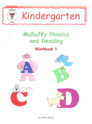 McRuffy Dynamic Phonics and Reading, Kindergarten, Workbook 1   -