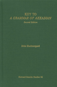 Key to A Grammar of Akkadian  -              By: John Huehnergard