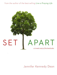 Set Apart: A 6-Week Study of the Beatitudes, Workbook    -     By: Jennifer Dean Kennedy