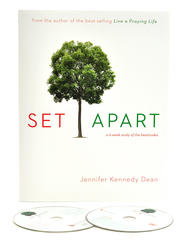 Set Apart: A 6 Week Study of The Beatitudes,  Leader Kit with DVD  -     By: Jennifer Dean Kennedy