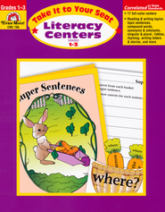Literacy Centers - Take it to Your Seat, Grades 1-3   -