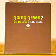 Going Green Binder  -